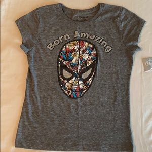 Disney Spider-Man girls tshirt